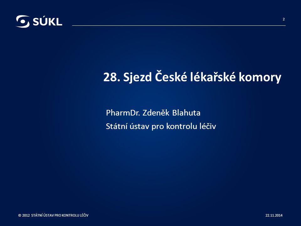 28. Sjezd České lékařské komory