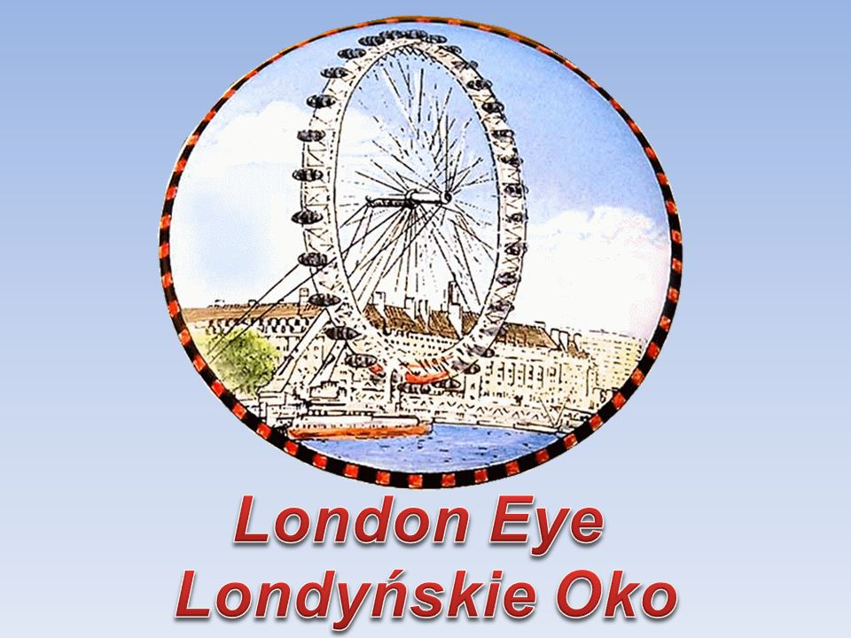 London Eye Londyńskie Oko