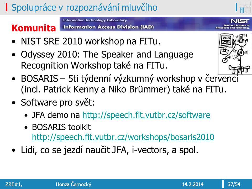Spolupráce v rozpoznávání mluvčího