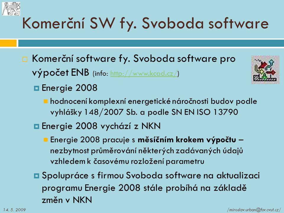 Komerční SW fy. Svoboda software