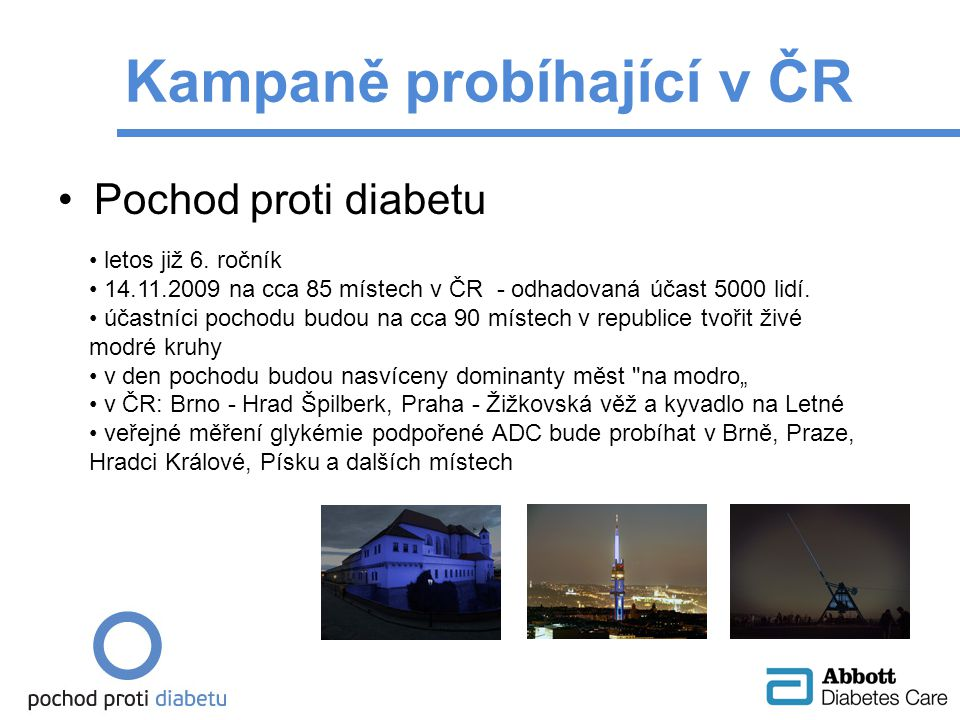 Kampaně probíhající v ČR