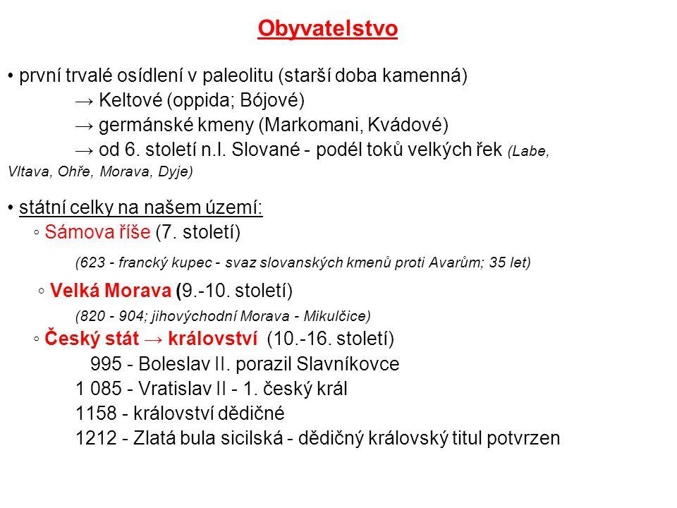 ◦ Velká Morava (9.-10. století)