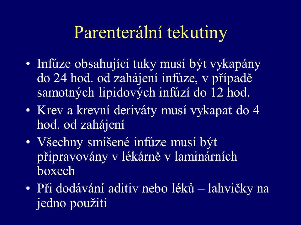 Parenterální tekutiny