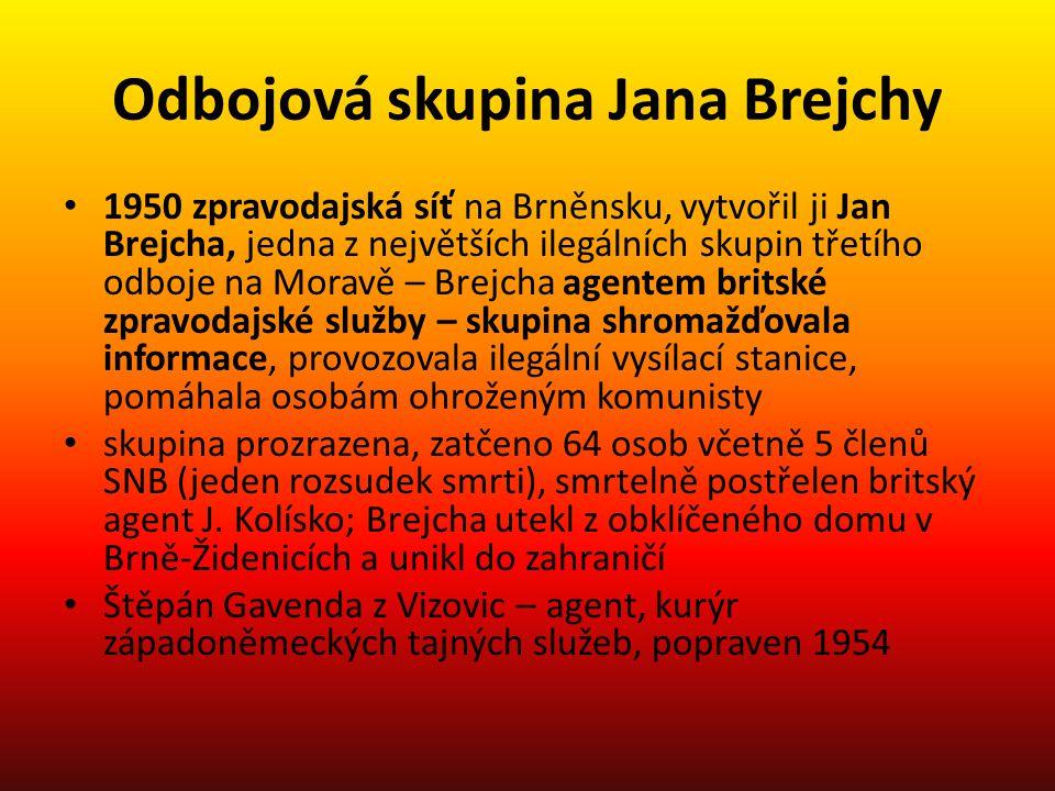 Odbojová skupina Jana Brejchy