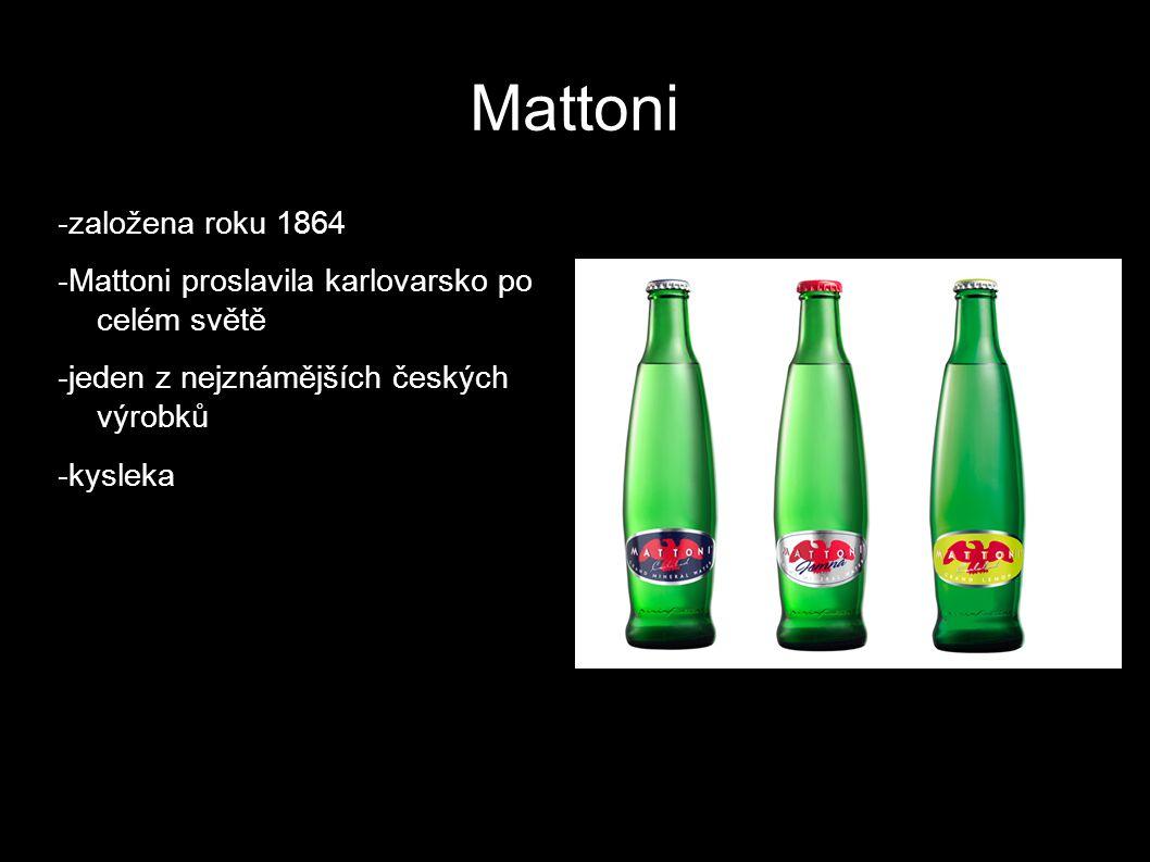 Mattoni -založena roku 1864