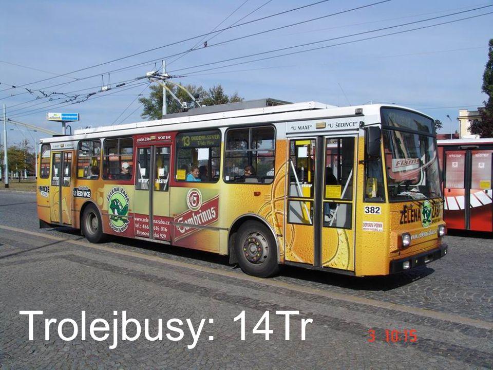 Trolejbusy: 14Tr