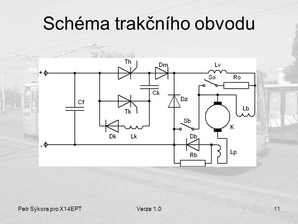 Schéma trakčního obvodu