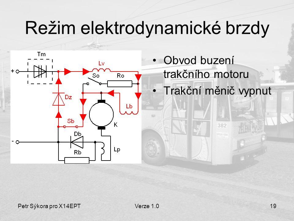 Režim elektrodynamické brzdy