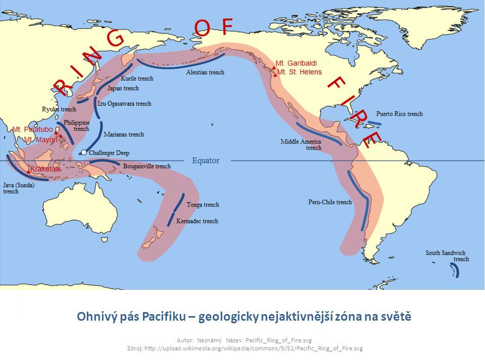 Ohnivý pás Pacifiku – geologicky nejaktivnější zóna na světě