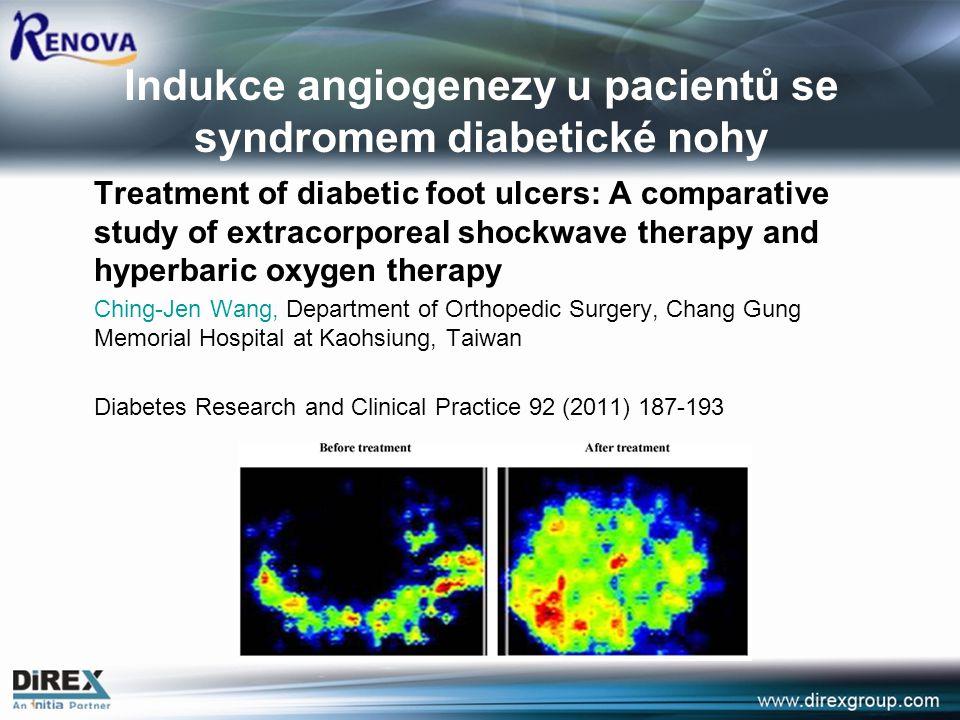 Indukce angiogenezy u pacientů se syndromem diabetické nohy