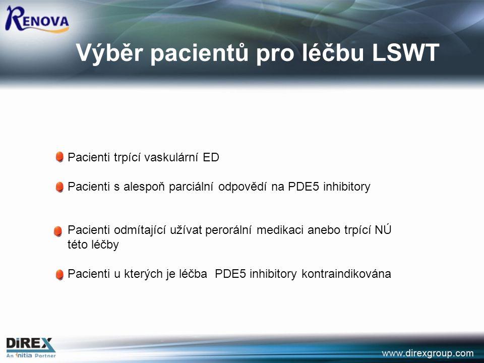 Výběr pacientů pro léčbu LSWT