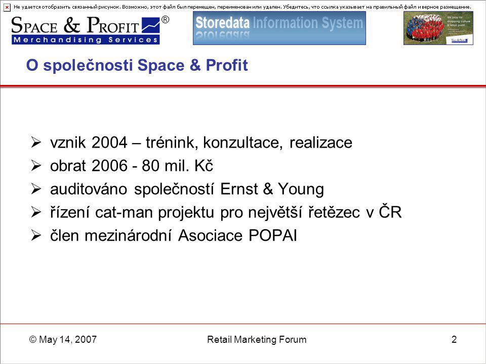 O společnosti Space & Profit