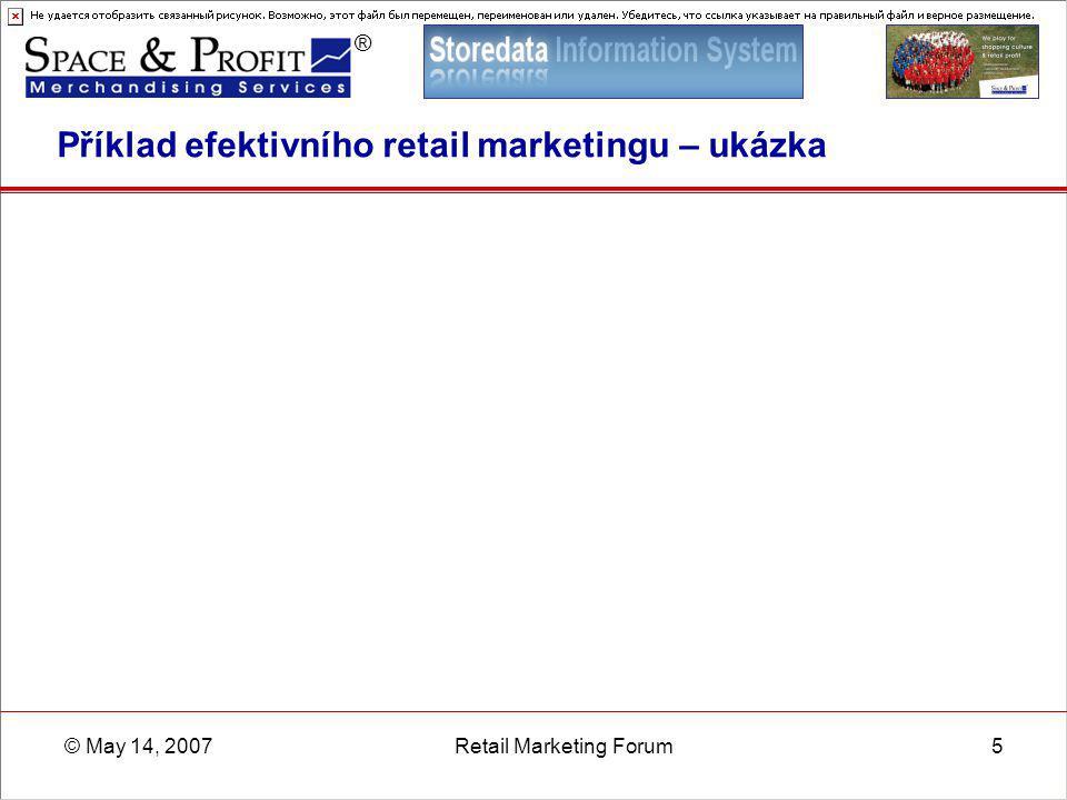 Příklad efektivního retail marketingu – ukázka
