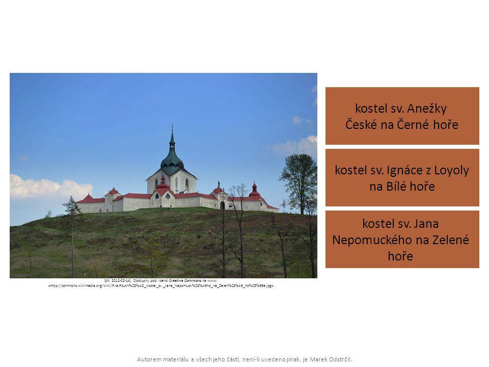 kostel sv. Ignáce z Loyoly na Bílé hoře