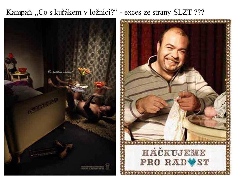 """Kampaň """"Co s kuřákem v ložnici - exces ze strany SLZT"""
