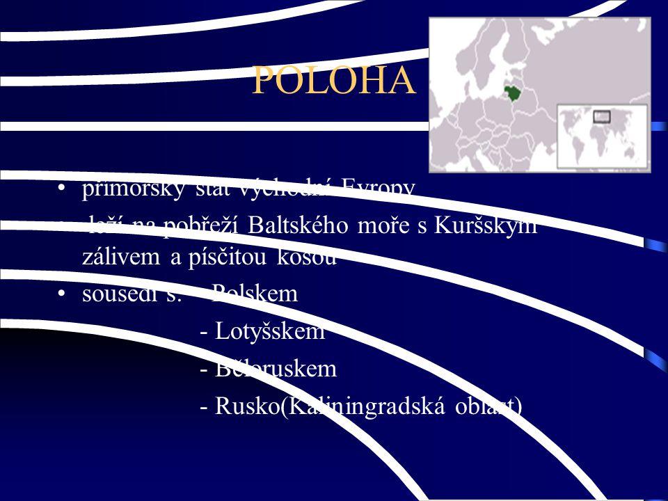 POLOHA přímořský stát východní Evropy