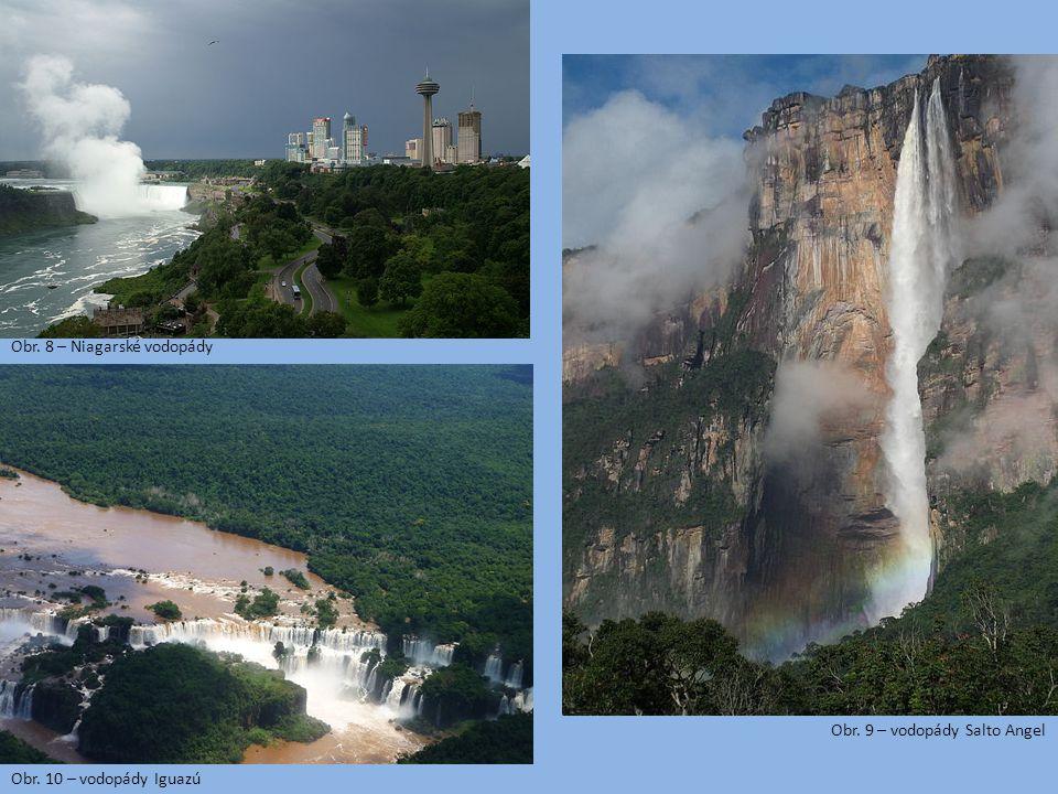Obr. 8 – Niagarské vodopády