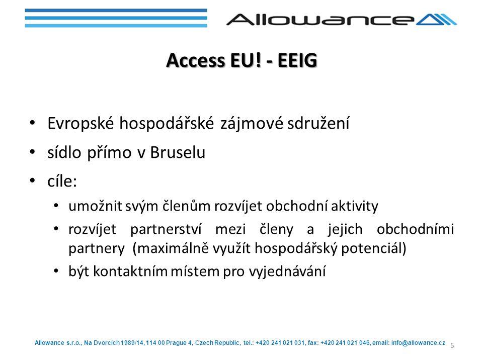 Access EU! - EEIG Evropské hospodářské zájmové sdružení