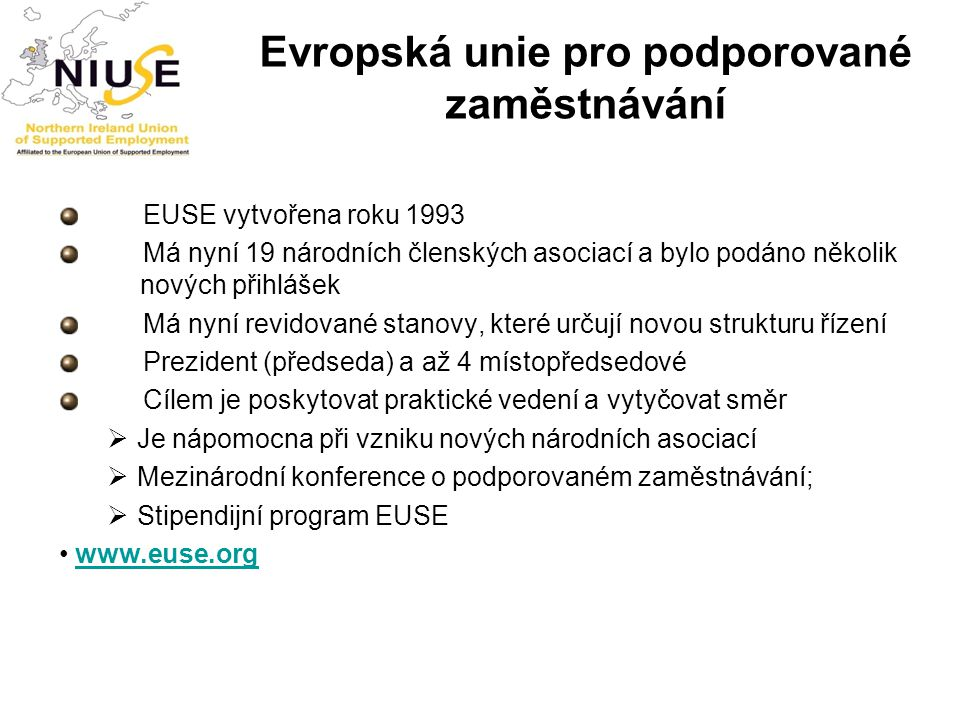 Evropská unie pro podporované zaměstnávání