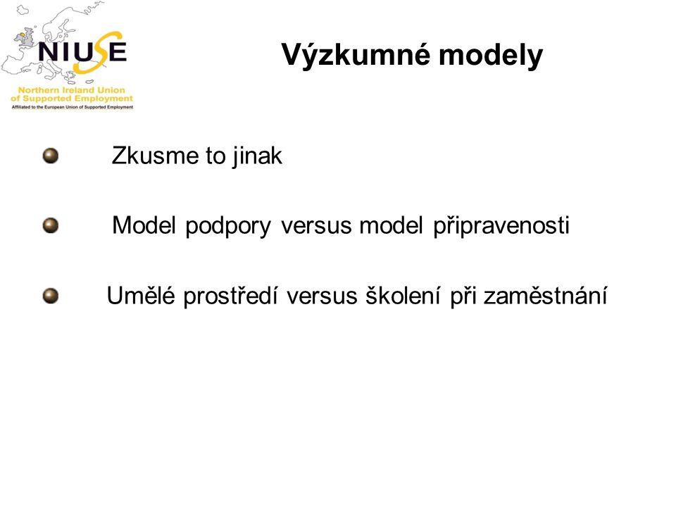 Výzkumné modely Zkusme to jinak