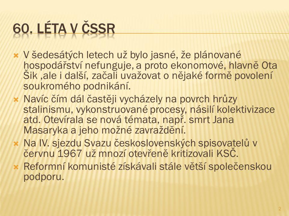 60. Léta v ČSSR