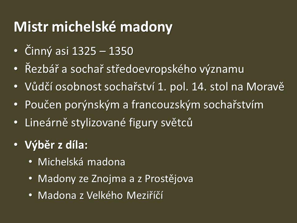 Mistr michelské madony