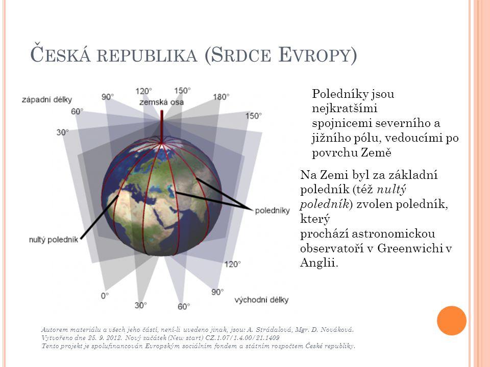 Česká republika (Srdce Evropy)