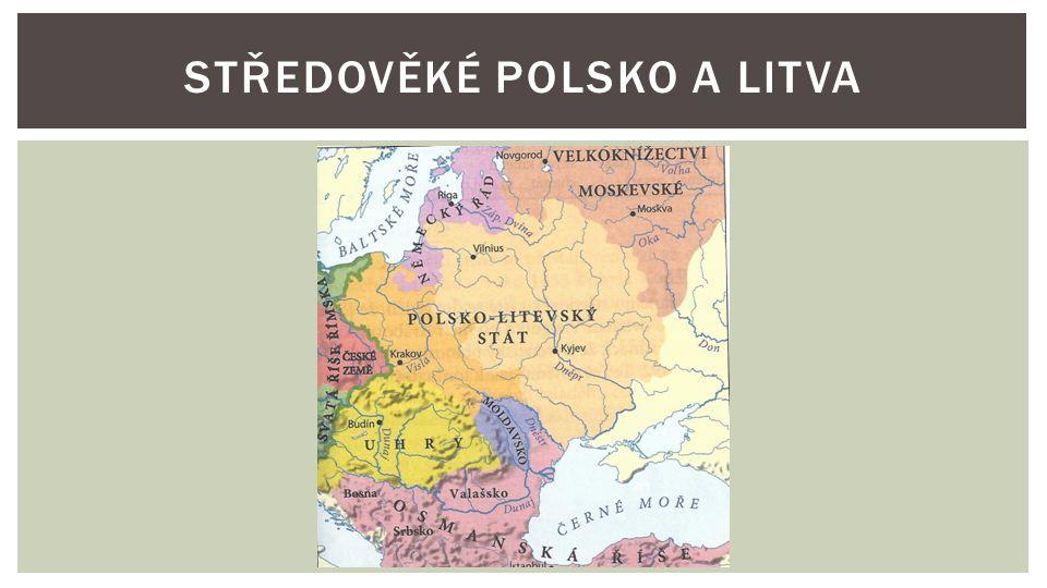Středověké Polsko a Litva