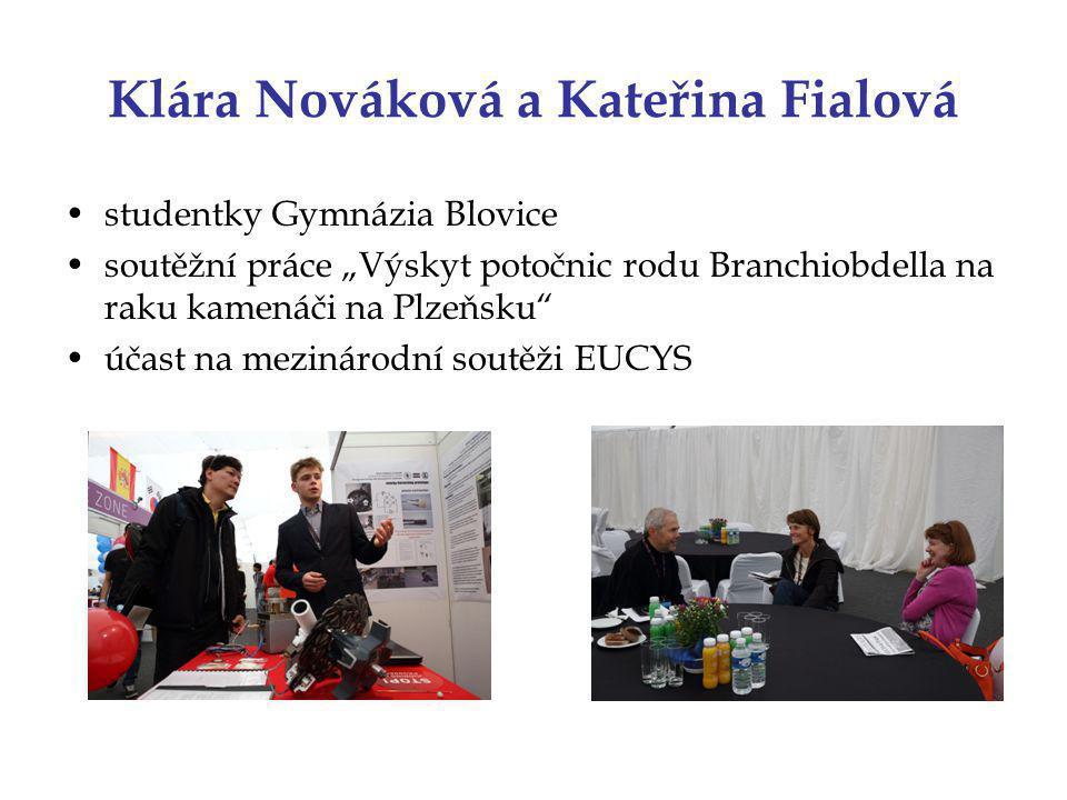 Klára Nováková a Kateřina Fialová