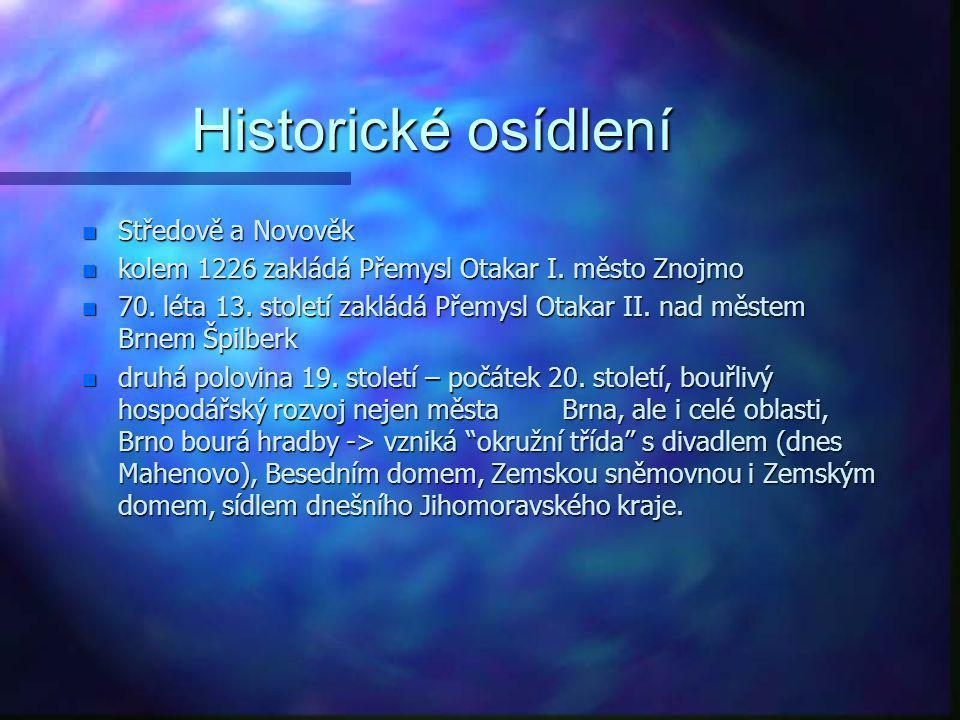 Historické osídlení Středově a Novověk