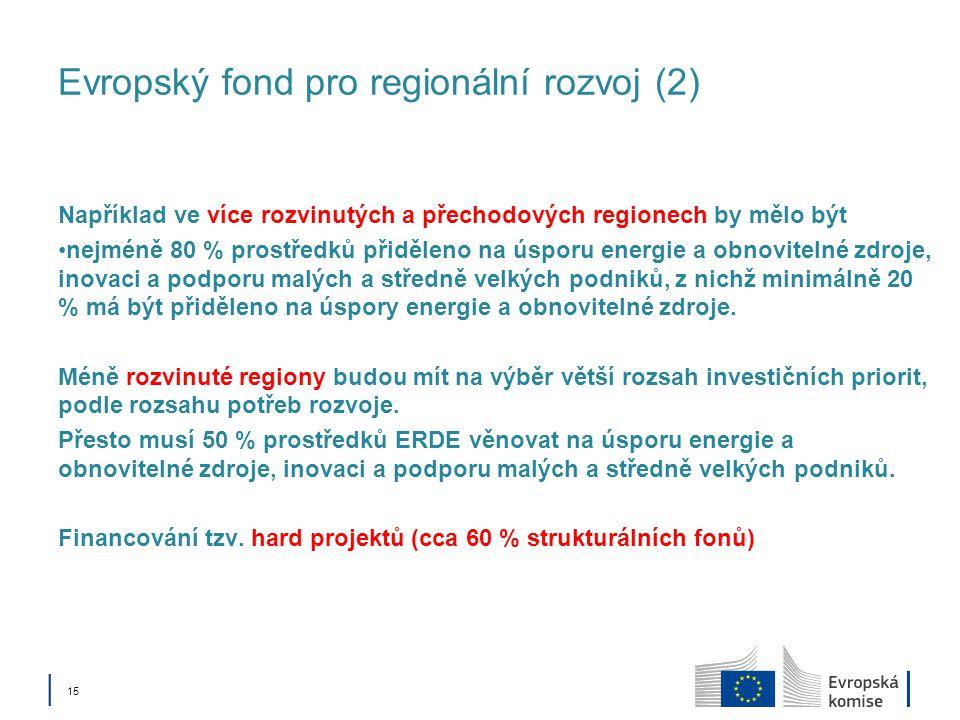 Evropský fond pro regionální rozvoj (2)