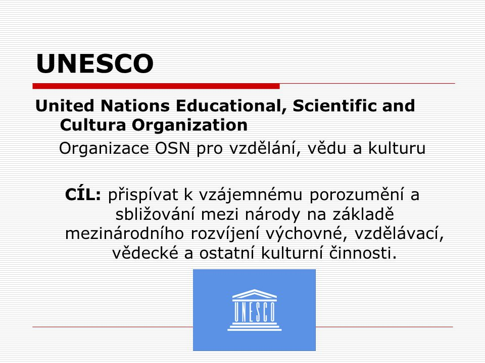 Organizace OSN pro vzdělání, vědu a kulturu