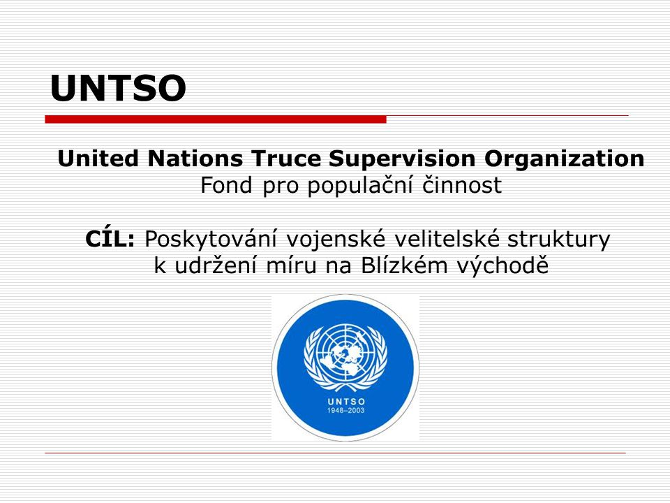 United Nations Truce Supervision Organization