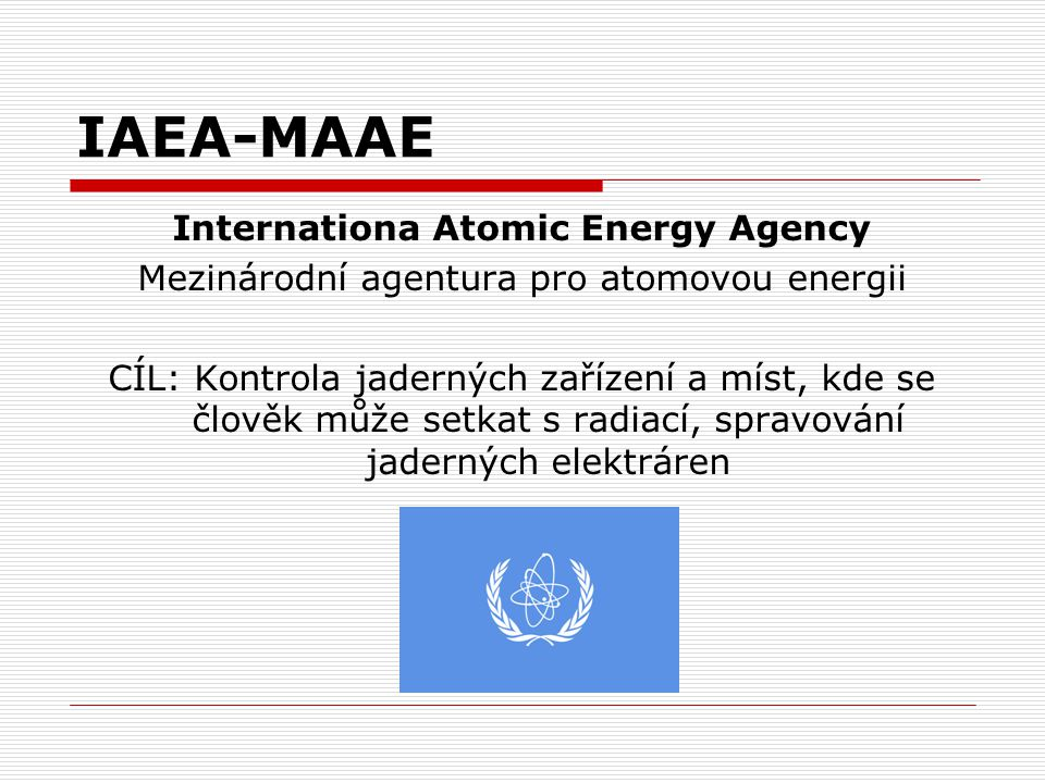 Internationa Atomic Energy Agency