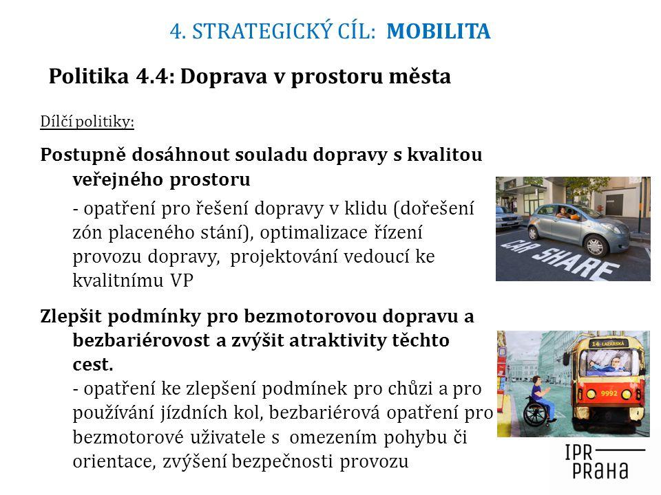 Politika 4.4: Doprava v prostoru města