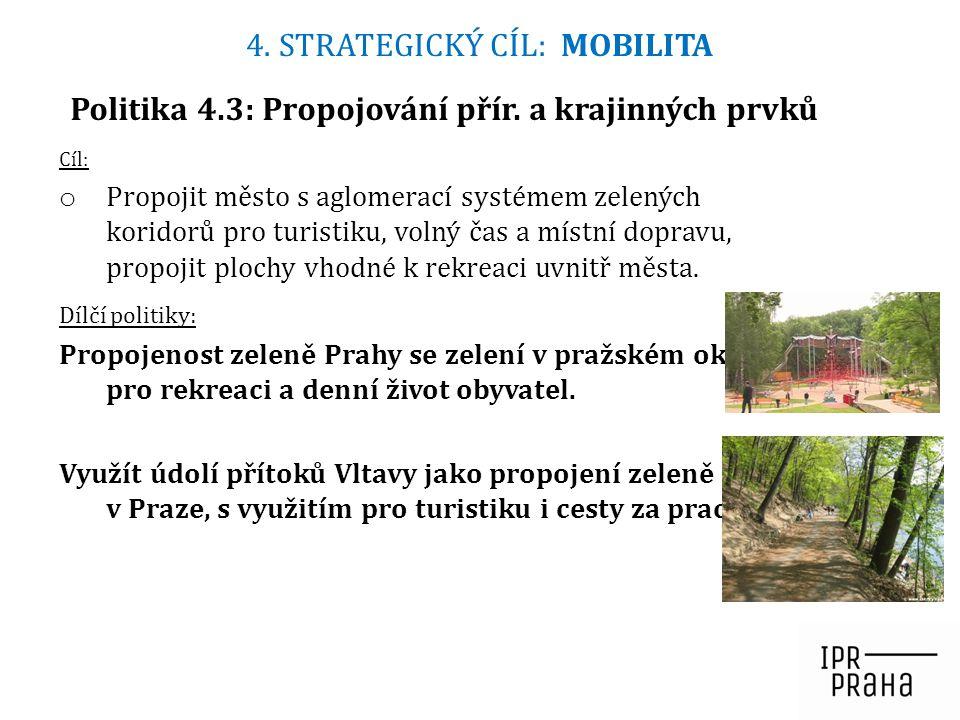 Politika 4.3: Propojování přír. a krajinných prvků