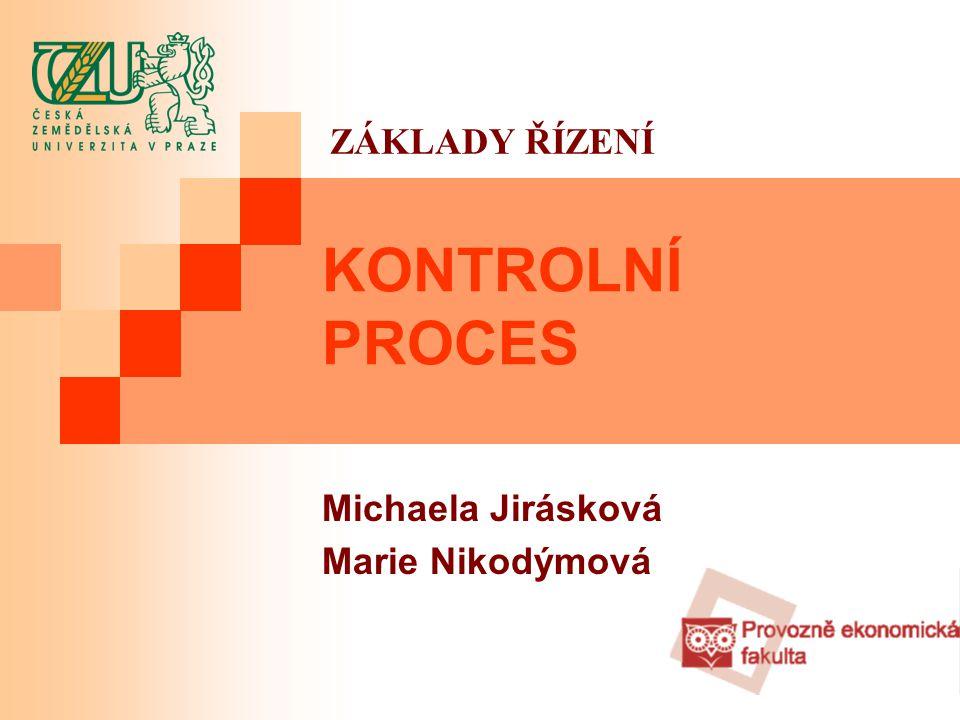 Michaela Jirásková Marie Nikodýmová