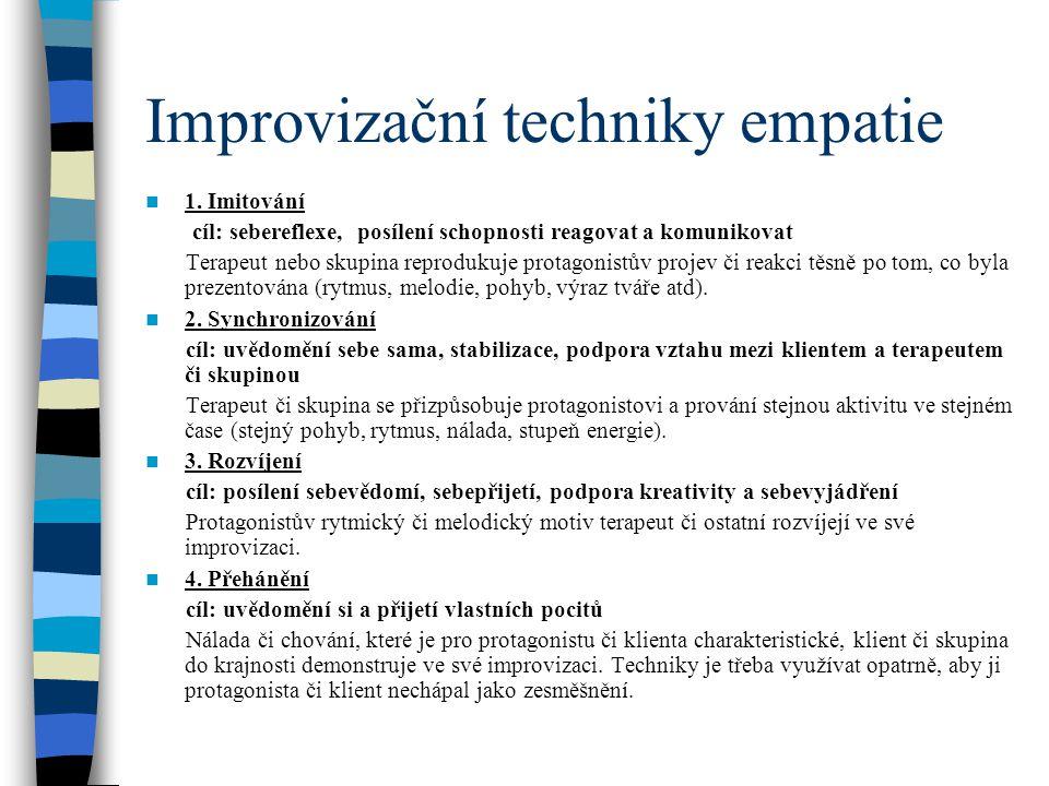 Improvizační techniky empatie