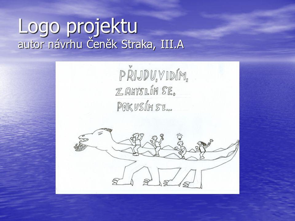 Logo projektu autor návrhu Čeněk Straka, III.A