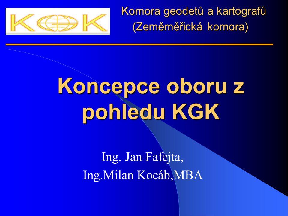 Ing. Jan Fafejta, Ing.Milan Kocáb,MBA