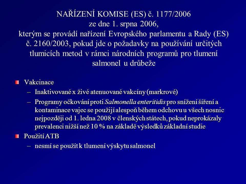 NAŘÍZENÍ KOMISE (ES) č. 1177/2006 ze dne 1