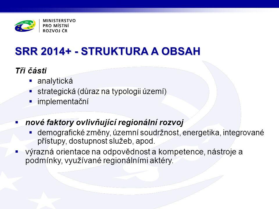 SRR 2014+ - STRUKTURA A OBSAH