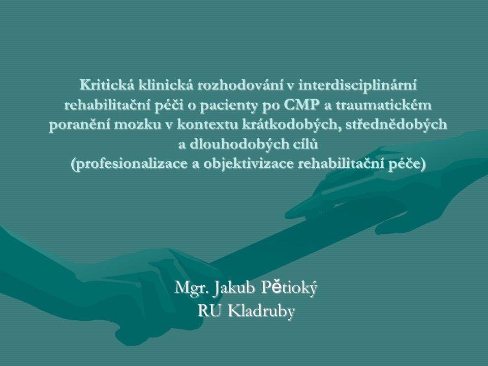 Mgr. Jakub Pětioký RU Kladruby