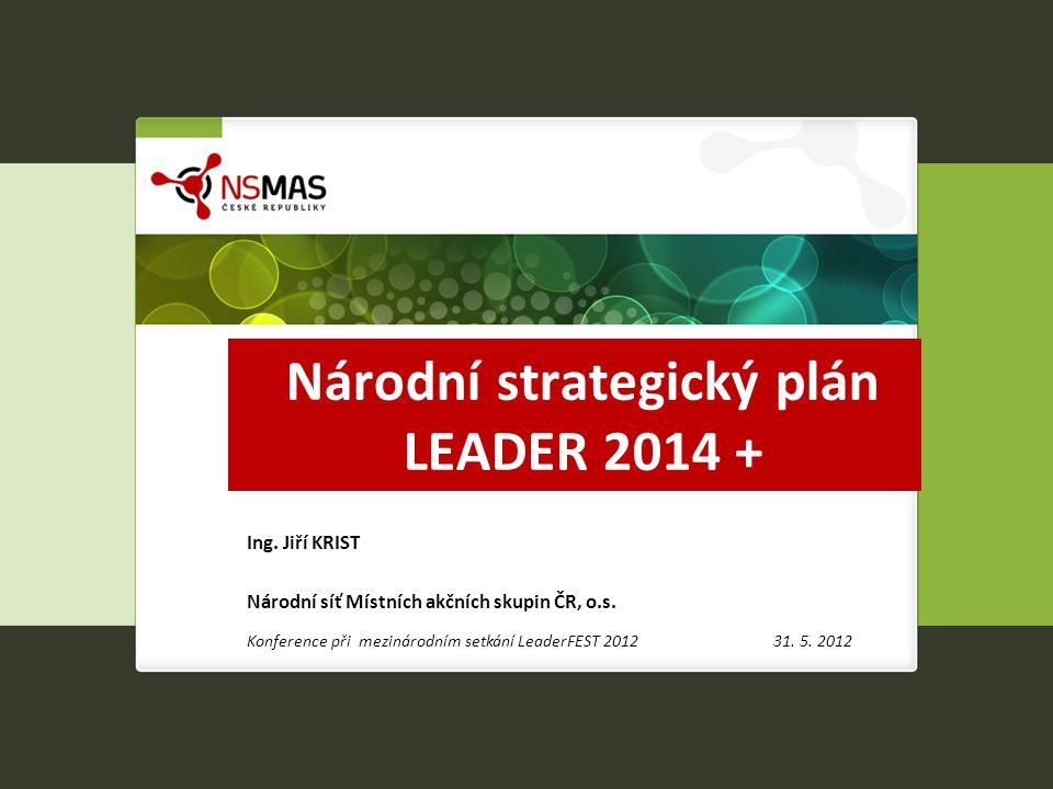 Národní strategický plán LEADER 2014 +