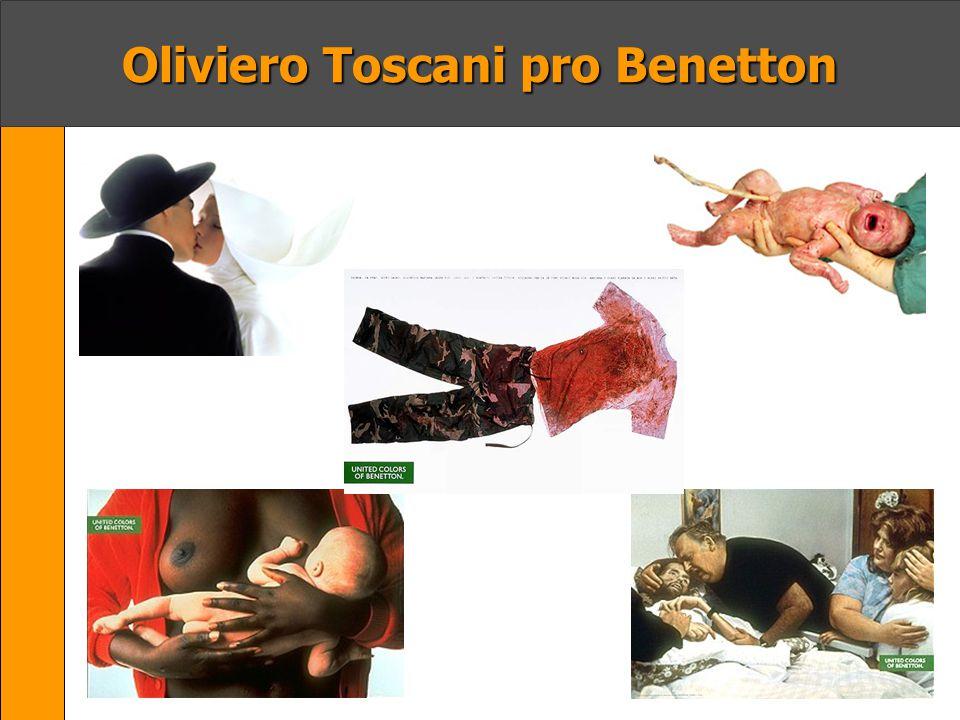 Oliviero Toscani pro Benetton