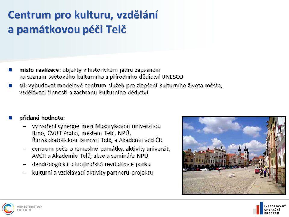 Centrum pro kulturu, vzdělání a památkovou péči Telč