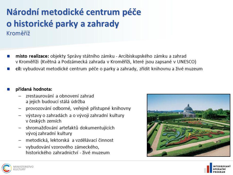 Národní metodické centrum péče o historické parky a zahrady Kroměříž