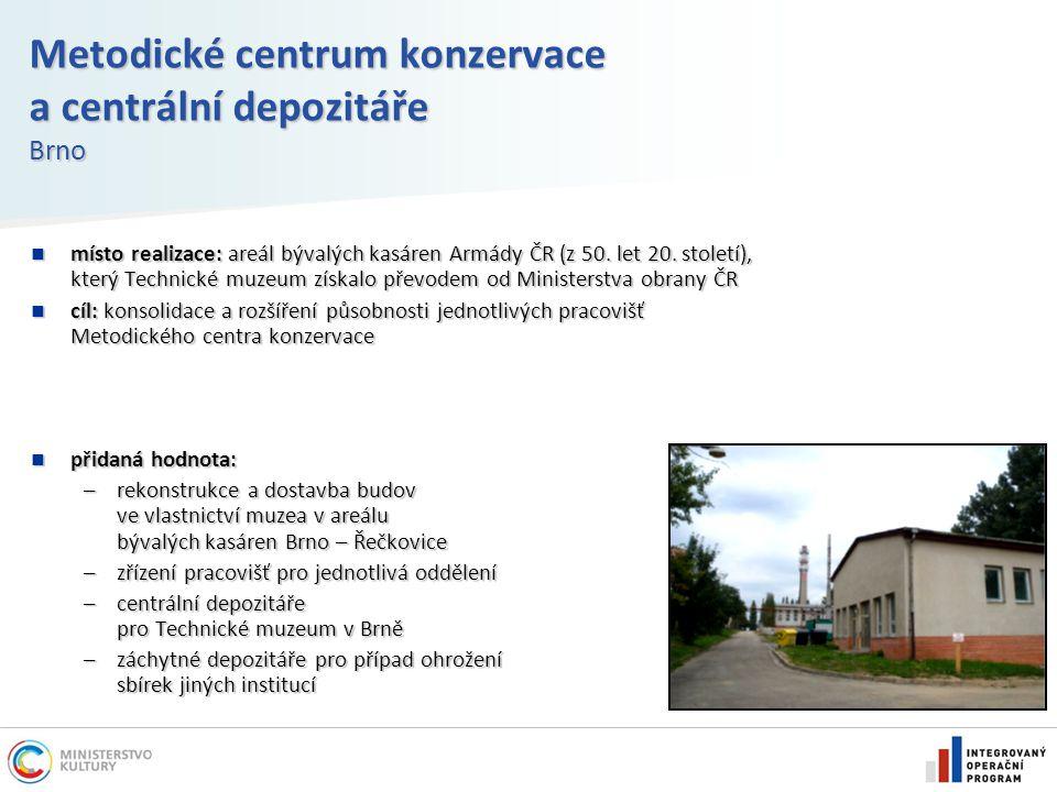 Metodické centrum konzervace a centrální depozitáře Brno