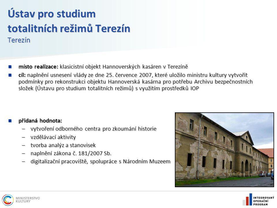Ústav pro studium totalitních režimů Terezín Terezín