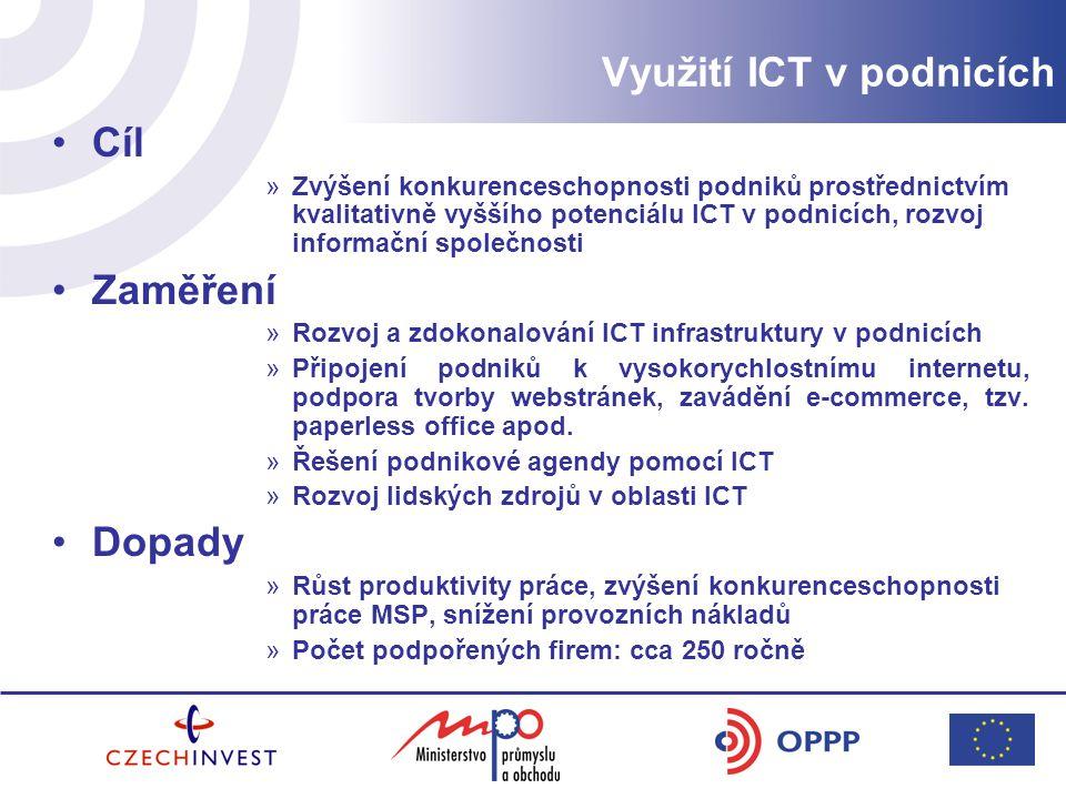 Využití ICT v podnicích